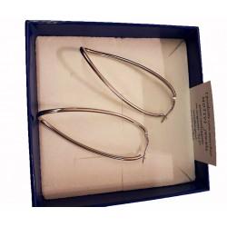 orecchini in argento colore oro