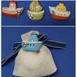 barca vela calamita per bomboniere